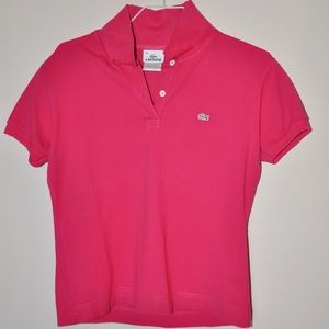 Lacoste Women's Polo Shirt, Size: M, Euro Size:44
